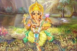 Ganesh in Nature Accomplished
