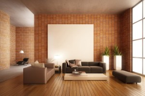 3D-rendering-of-modern-minimalist-living-room-with-brick-wall