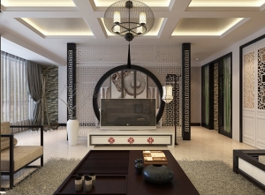 Retro-elements-in-Chinese-modern-living-room-design