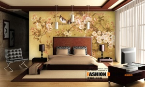 Contemporary-chinese-infuenced-bedroom-design