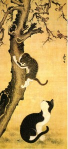 Korean_art-Byeon_Sangbyeok-Myojakdo-Painting_of_Cats_and_Sparrows-01[1]